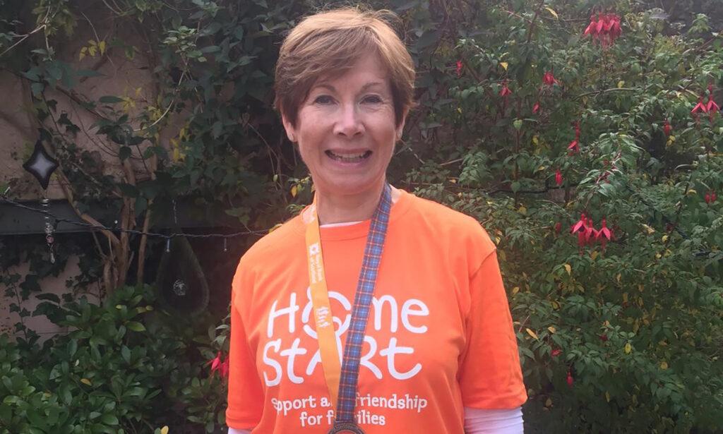 Walkers for Home-Start Aberdeen raising funds in tartan
